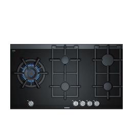 Siemens ER9A6SD70 Black glass 5 burner gas hob Reviews