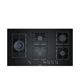 Siemens EP9A6SB90 Black glass 5 burner gas hob Reviews