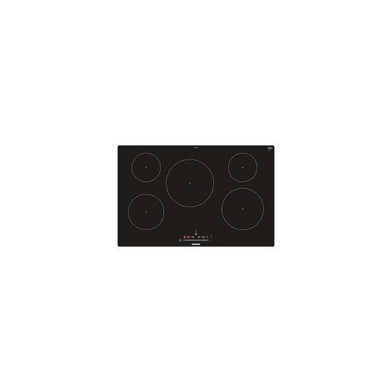 Siemens EH801FVB1E Black glass 5 zone induction hob