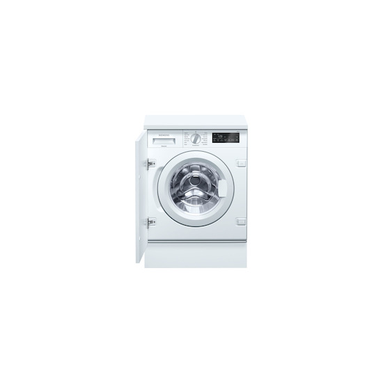Siemens WI14W500GB White Fully integrated washing machine