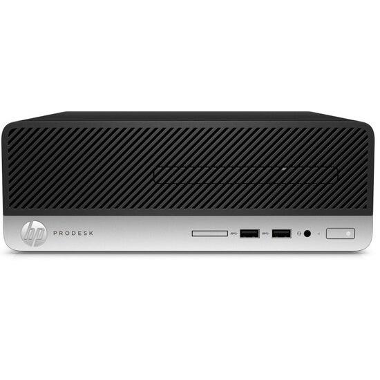 HP ProDesk 400 G4 SFF Desktop Intel Core i3-7100 3.9 GHz 8GB RAM 256GB SSD DVDRW Intel HD Windows 10 Pro