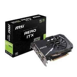 MSI GeForce GTX 1060 Aero ITX 6GB OC GDDR5 Graphics Card Reviews