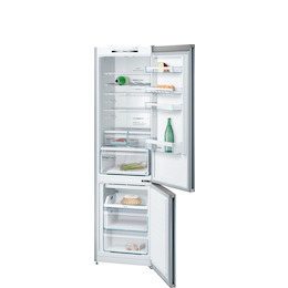 Bosch KGN39VL3AG Stainless steel look Freestanding frost free fridge freezer Reviews