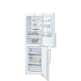 Bosch KGN34XW35G Stainless steel look Freestanding frost free fridge freezer Reviews