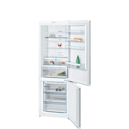 Bosch KGN49XW30 Stainless steel look Freestanding frost free fridge freezer Reviews