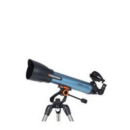 Celestron Inspire 100 22403-CGL Refractor Telescope - Black & Blue Reviews