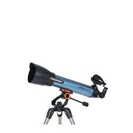 Celestron Inspire 100 22403-CGL Refractor Telescope - Black & Blue Reviews