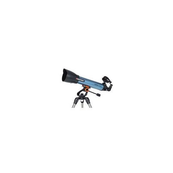 Celestron Inspire 100 22403-CGL Refractor Telescope - Black & Blue