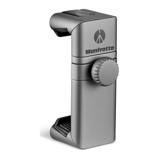 MANFROTTO Twistgrip Smartphone Clamp - Metallic Grey