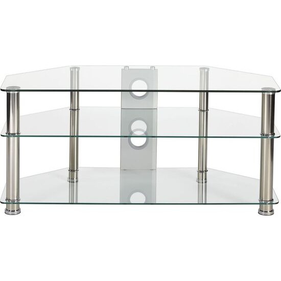 Rome P5CCH1050 TV Stand - Glass