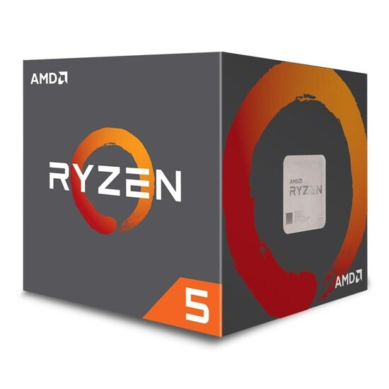 AMD Ryzen™ 5 1400 Quad Core AM4 CPU with Wraith Stealth 65W cooler