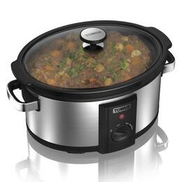 TOWER T16011 Slow Cooker - Stainless Steel Reviews