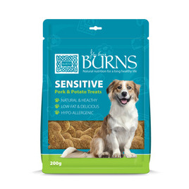 Burns Sensitive Pork & Potato Treats Reviews