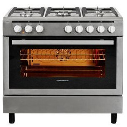 Nordmende CSG91IX 90cm Duel Fuel Range Cooker Stainless Steel Reviews