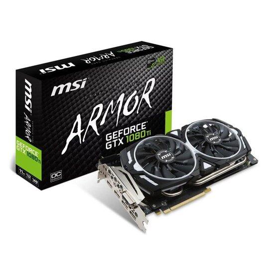 MSI Nvidia GTX 1080 Ti ARMOR 11G OC Graphics Card