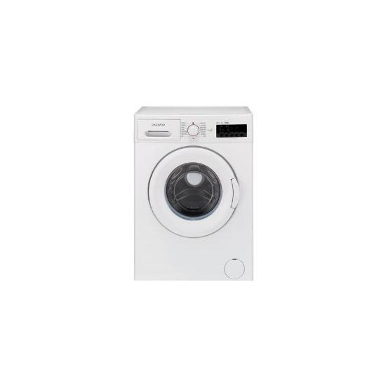 Daewoo DWDMV1221 6kg 1200 rpm Extra Efficient Freestanding Washing Machine