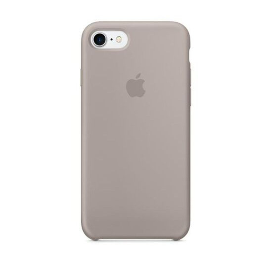 APPLE Silicone iPhone 7 Case - Pebble