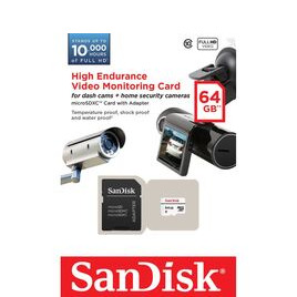 High Endurance Video Monitoring Class 10 MicroSDXC Memory Card - 64 GB Reviews