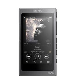 Sony NW-A35 Hi-res Walkman Touchscreen MP3 Player with FM Radio - 16 GB Black Reviews