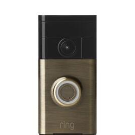 Ring Video Doorbell - Antique Brass Reviews