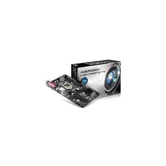 ASRock Intel H81 Pro BTC DDR3 LGA 1150 ATX Motherboard