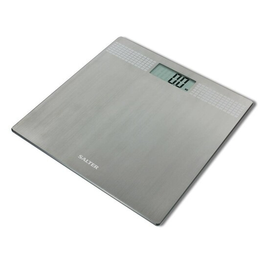 Salter Silver Glitter Electronic Digital