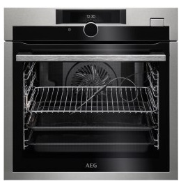 AEG BSE874320M SteamCrisp Quarter Steam And Pyrolytic Oven With Command Wheel Control And HD TFT Display Stainless Steel Reviews