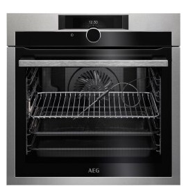 AEG BPE842720M SenseCook Pyrolytic Oven With Command Wheel Control And HD TFT Display Stainless Steel Reviews