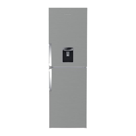 Grundig GKF15810DN 50/50 Fridge Freezer - Brushed Steel