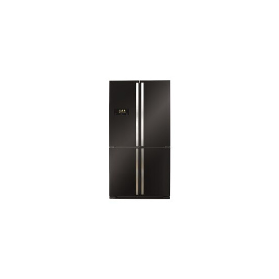 CDA PC900BL American Style 4 Door Fridge With Multi Zone Cooling