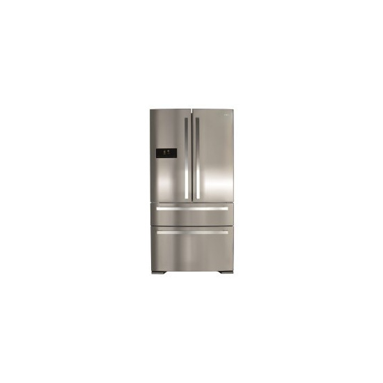 CDA PC870SS PC870SC American Style 2 Door Fridge With Pullout Freezer Drawers Stainless Colour APlus Ra