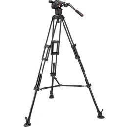 Manfrotto Nitrotech N8 & 546B Twin MS Tripod Kit