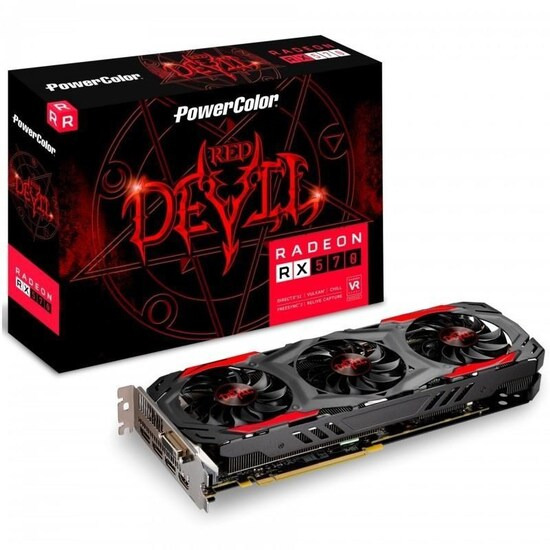 PowerColor Radeon RX 570 Red Devil 4096MB GDDR5 PCI-Express Graphics Card