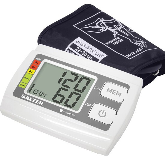 Salter Automatic Arm Blood Pressure Moni