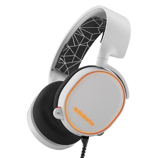SteelSeries Arctis 5 RGB 7.1 Surround Gaming Headset - White