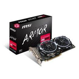 MSI AMD Radeon RX 580 8GB ARMOR 8G OC Graphics Card Reviews