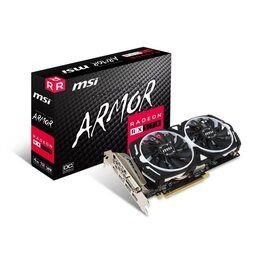 MSI AMD Radeon RX 570 4GB ARMOR OC Graphics Card Reviews