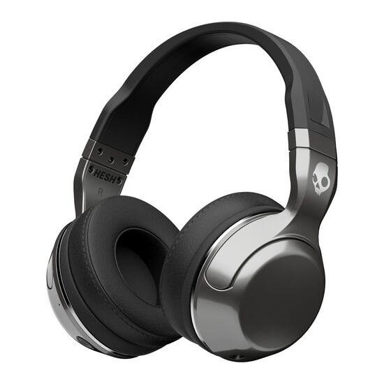 Skull Candy Hesh 2.0 Wireless Bluetooth Headphones - Silver & Black