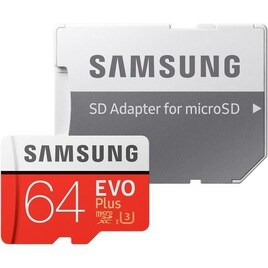 Samsung Evo Plus Class 10 microSD Memory Card - 64 GB Reviews