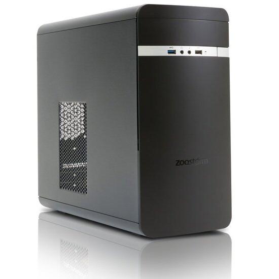 Zoostorm Evolve Desktop PC Intel Core i3-7100 3.9GHz 8GB RAM 1TB HDD DVDRW Intel HD No Operating System
