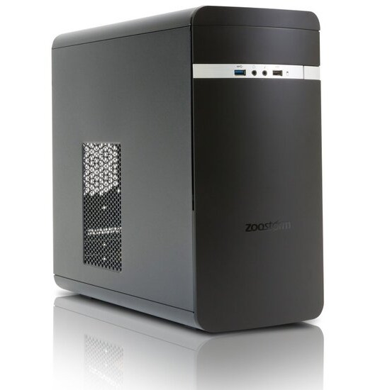Zoostorm Evolve Desktop PC Intel Pentium G4560 3.5GHz 4GB RAM 500GB HDD DVDRW Intel HD WIFI Windows 10 Home