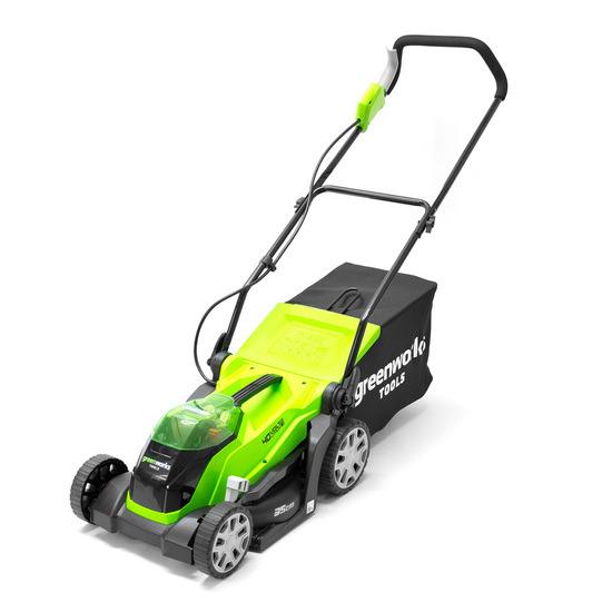 Greenworks G40LM35K2-A