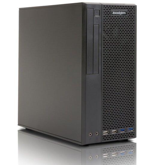 Zoostorm Delta Elite Desktop PC Intel Core i3-7100 3.9GHz 8GB RAM 120GB SSD DVDRW Intel HD No Operating System