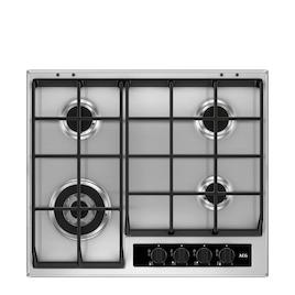 AEG HG65SY4551 Stainless steel 4 burner gas hob Reviews