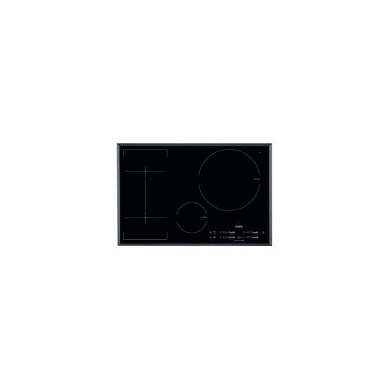 AEG HKL85410FB Black glass 4 zone induction hob