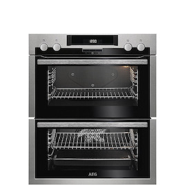 AEG SurroundCook DUE431110M Electric Built-under Double Oven - Stainless Steel & Black Reviews