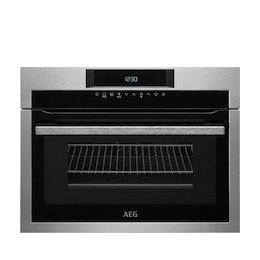 AEG KME761000M Stainless steel Compact combination microwave oven Reviews