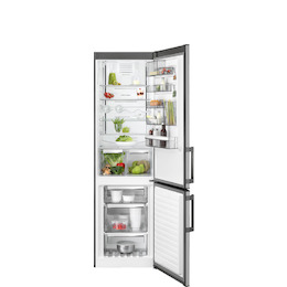 AEG RCB53724MX Stainless steel Freestanding frost free fridge freezer Reviews