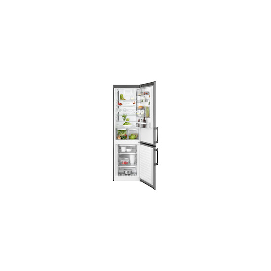 AEG RCB53724MX Stainless steel Freestanding frost free fridge freezer