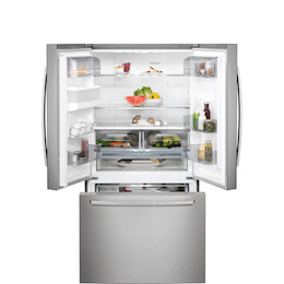 AEG RMB76311NX Stainless steel French Door Fridge freezer Reviews